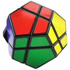 QJ 2x2 Megaminx Dodecahedron Fekete
