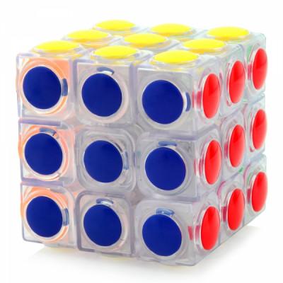 YongJun Linggan 3x3x3 Átlátszó   Rubik kocka