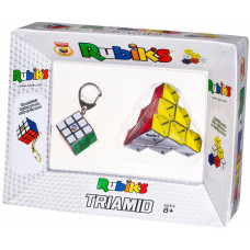 Rubik kocka kulcstartó + Rubik Triamid