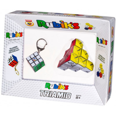 Rubik kocka kulcstartó + Rubik Triamid | Rubik kocka