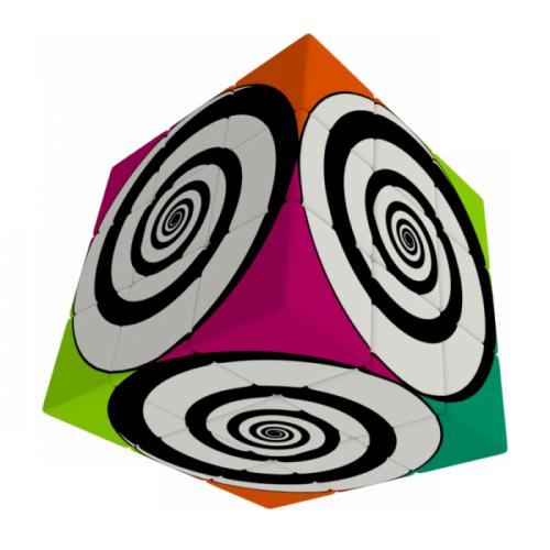 V-Cube 3x3 versenykocka, Funky Spirál