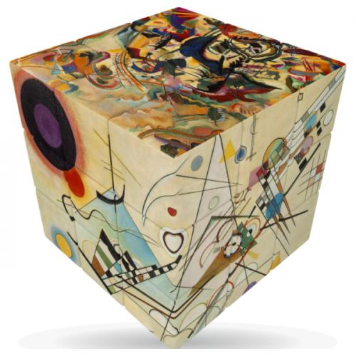 V-Cube 3x3 versenykocka, Kandinsky