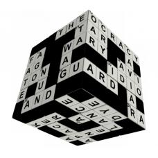 V-Cube 3x3 versenykocka, Keresztrejtvény