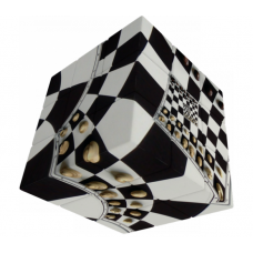 V-Cube 3x3 versenykocka, Sakktábla illúzió