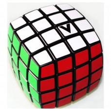 V-Cube 4x4 versenykocka, lekerekített fekete