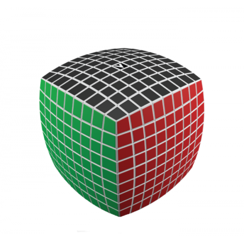 V-Cube 9x9 versenykocka, lekerekített, fehér