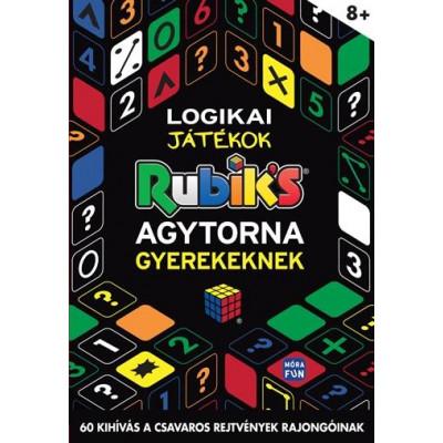 Logikai játékok - agytorna gyerekeknek könyv | Rubik kocka