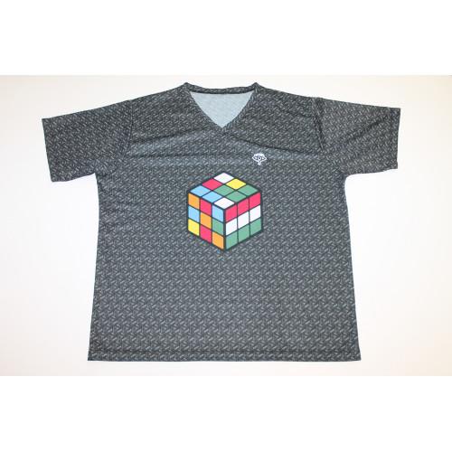 Rubikos póló szürke