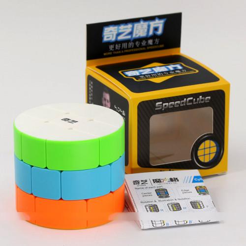 Qiyi 3x3x3 Cylinder cube puzzle