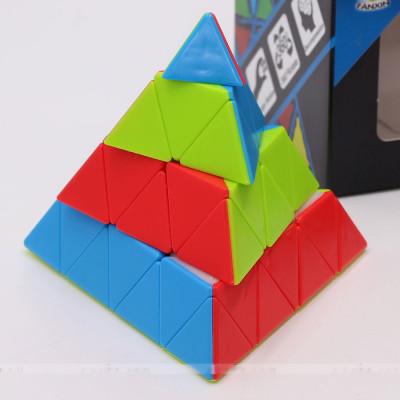 FanXin 4x4 Pyramid cube 4-Layer   Rubik kocka