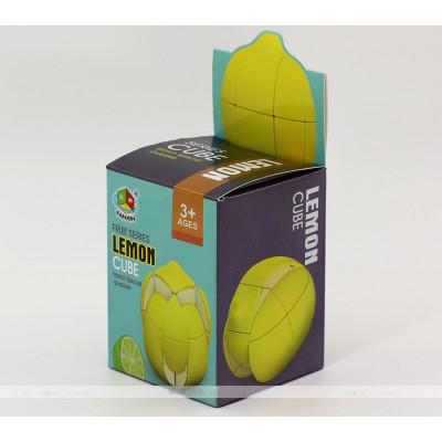 FanXin puzzle 3x3 fruit cube - Lemon   Rubik kocka