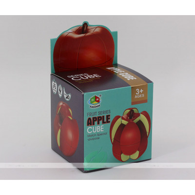 FanXin puzzle 3x3x3 fruit cube - Apple   Rubik kocka