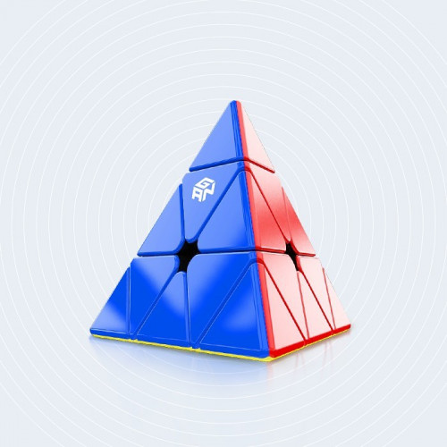 GAN magnetic Pyraminx core positioning