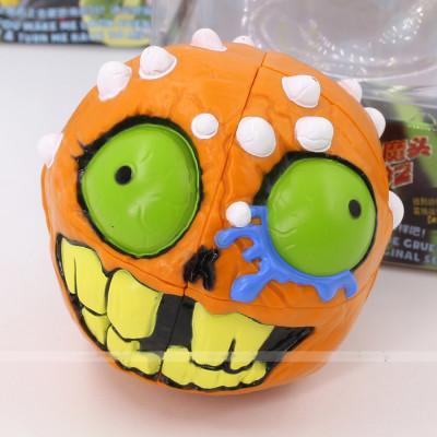 ILS Madhedz 2x2x2 cube crazy ball Crazy Skull (Orange)   Rubik kocka