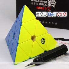 QiYi-Xman cube Magnetic Pyraminx - Bell v2 M   Rubik kocka
