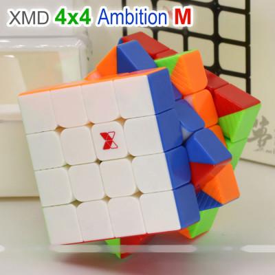 QiYi XMD 4x4x4 magnetic cube - Ambition M   Rubik kocka