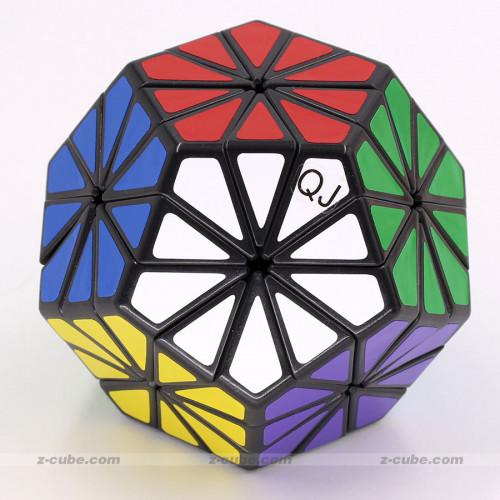 QJ Pyraminx Crystal Puzzle Cube | Rubik kocka