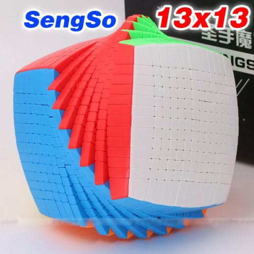ShengShou sengso 13x13x13 Pillow Puzzle Cube 12.8cm