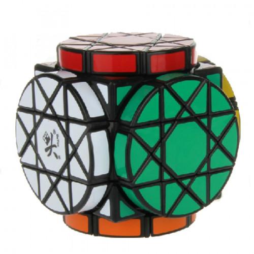 DaYan Wheels of Wisdom Luxuriant Magic Cube Black