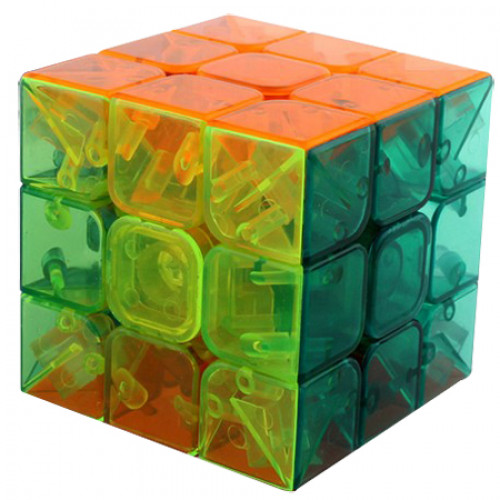 MoYu YuLong Stickerless Speed cube Transparent