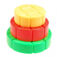 YJ Cake Magic Cube Colored