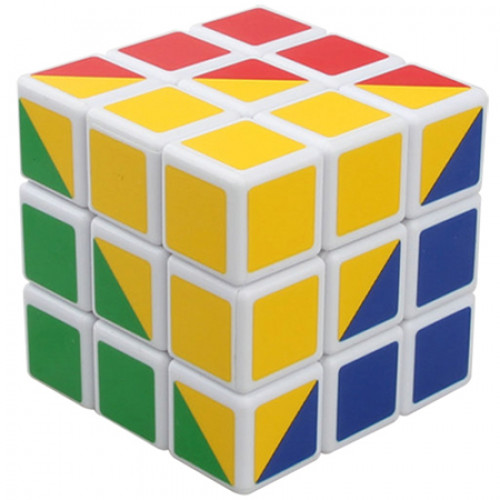 High Challenge 4-Color 3x3x3 Magic Cube | Rubik kocka