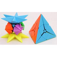 limCube Pineapple Cube Puzzle Random Color Scheme