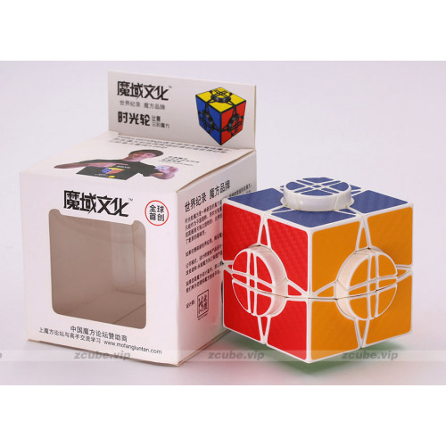 MoYu Puzzle Cube -Time Round (Carbon Fiber Stickers)