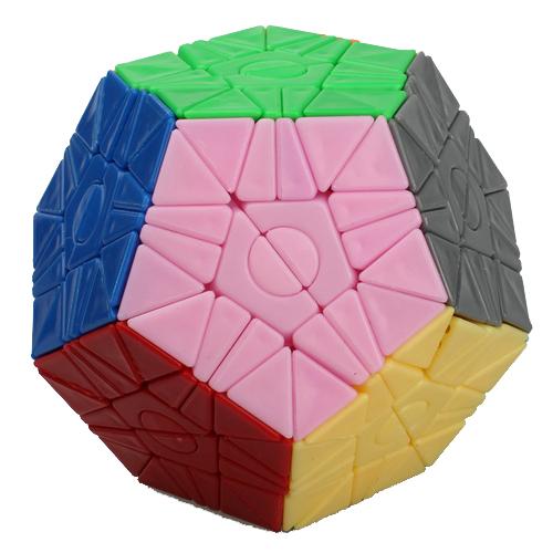 WitEden Greg & Felix 2x2 Megaminx Stickerless Magic Cube | Rubik kocka