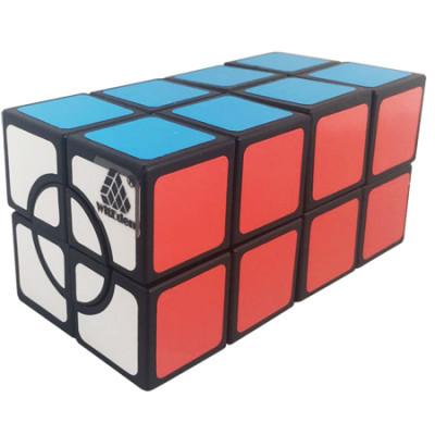 WitEden Super 2x2x4 Cuboid Cube Black   Rubik kocka