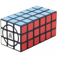 WitEden Super 3x3x6 Cuboid Cube Black