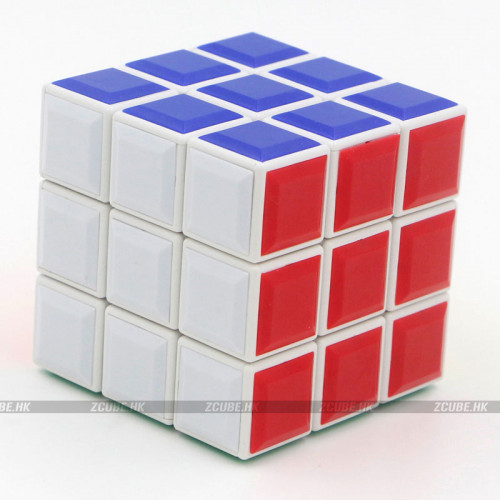 ZhuoWeiDi 3x3x3 Tiles Cube