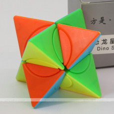 f/s limCube 2x2x2 Circle Series - Pyramorphix Dino Star Plus LiuSeLingJing Ⅱ Dino Star Plus   Rubik kocka