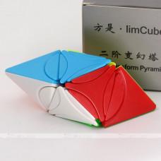 f/s limCube 2x2x2 Circle Series - Pyramorphix Dino Star Plus LiuSeLingJing Ⅱ Liu Se Ling Jing Ⅱ   Rubik kocka