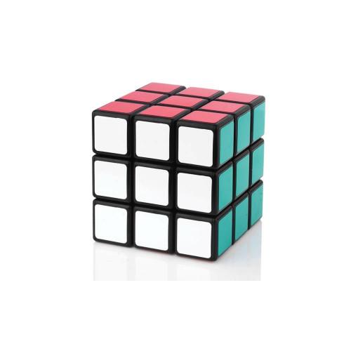 ShengShou Wind 3x3x3 Brain Teaser Magic IQ Cube (57mm)- Black