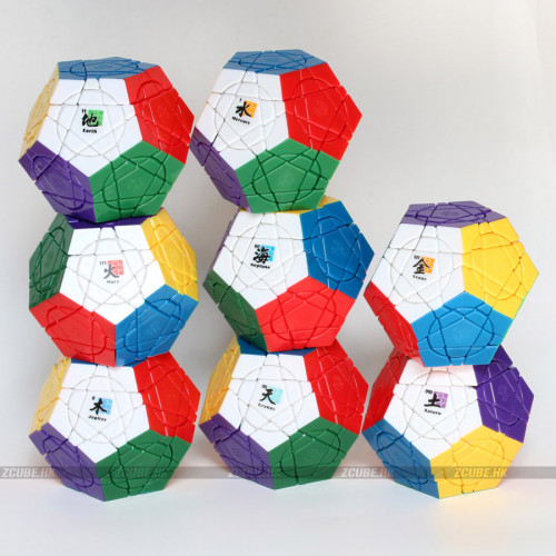 mf8+dayan cube - Crazy Megaminx plus
