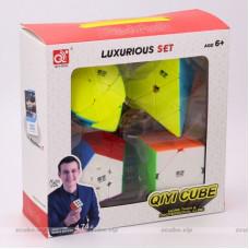 QiYi cube set - Pyraminx Mastermorphix Skewb Megaminx