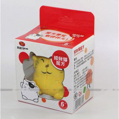 YongJun animal 2x2x2 cube - Plutus Cat   Rubik kocka