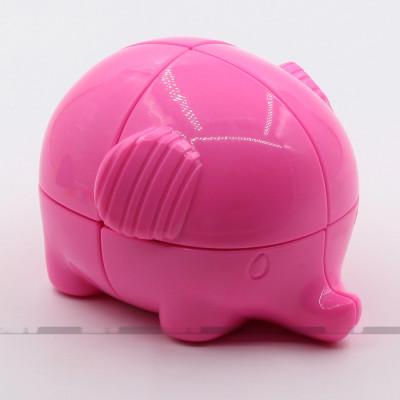 YongJun Special 2x2x2 cube - Elephant Pink   Rubik kocka