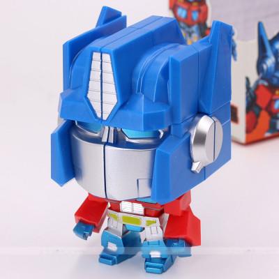 ziicube Fantasy cube 2x2x2 - Big head robot Blue   Rubik kocka