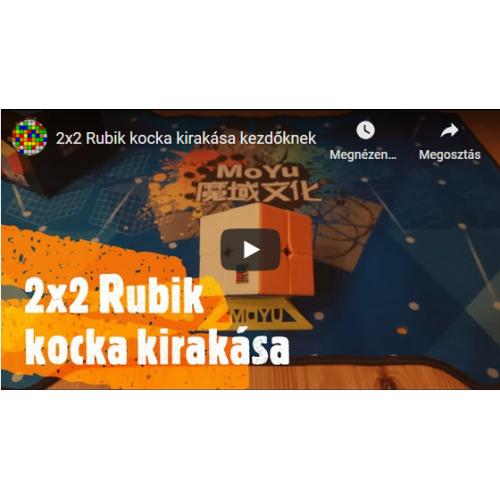 2x2 Rubik kocka kirakása