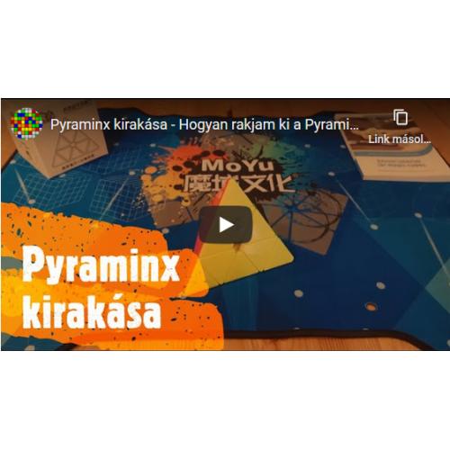 Pyraminx kirakása