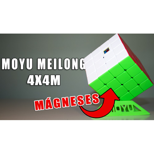 Rubik Kocka 4x4 - Moyu MeiLong Mágneses Bemutató