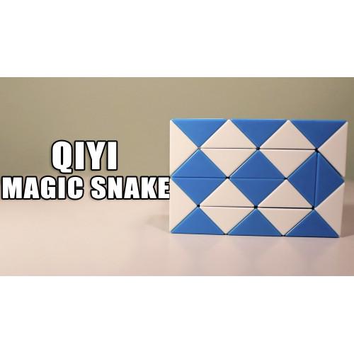 Rubik Kígyó - QiYi Magic Snake Bemutató