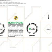 Rubik Kocka Cégesajándék
