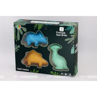 FanXin Three Little Dinosaurs 2x2x3 cube puzzle 1.   Rubik kocka