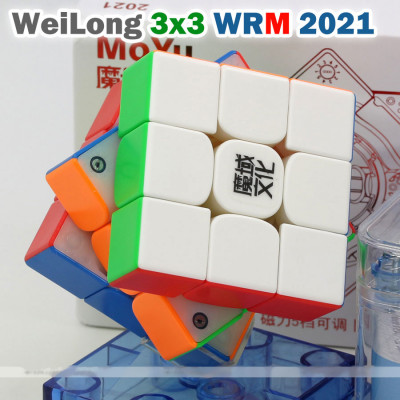 Moyu magnetic 3x3x3 cube - WeiLong WRM 2021 | Rubik kocka