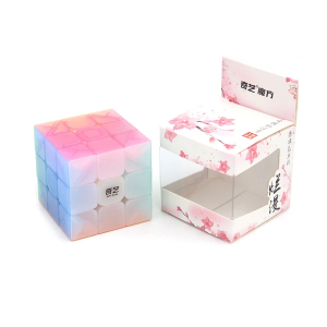 QiYi cube transparent Jelly colour series of 3x3 | Rubik kocka