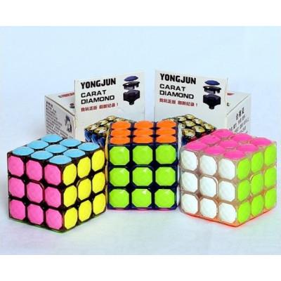 YongJun 3x3x3 Tiles cube - Carat Diamond   Rubik kocka