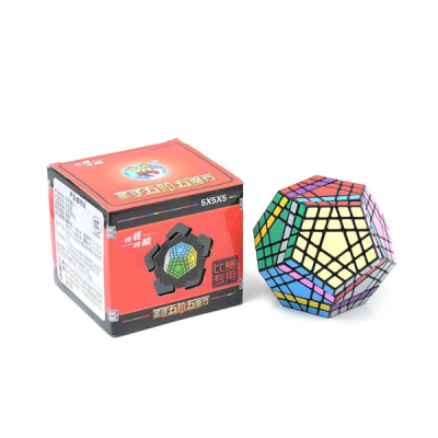 ShengShou megaminx cube - Gigaminx 5x5   Rubik kocka